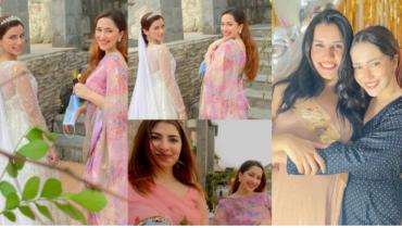 Naimal Khawar Sister Fiza Khawar Clicks From Friend Wedding