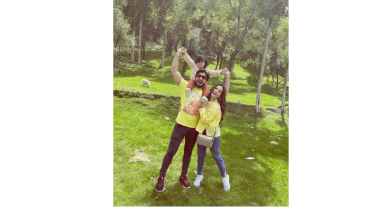 Aiman Khan Beautiful Pictures With Family Vacation