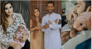 Cricketer Hassan Ali Spend Time With His Wife And Daughter