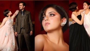 Alizeh Shah reveals her Family Portraits from Hum Style Awards