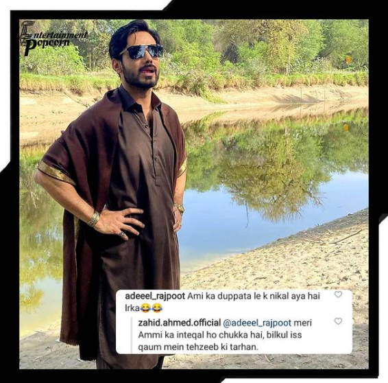 Zahid Ahmed curt reply to troll targeting his 'shawl'
