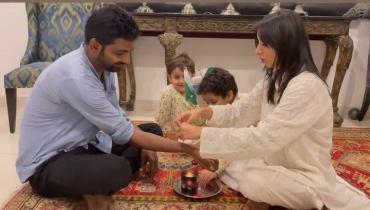 Sarwat Gillani Celebrates Raksha Bandhan With Her Hindu Brother