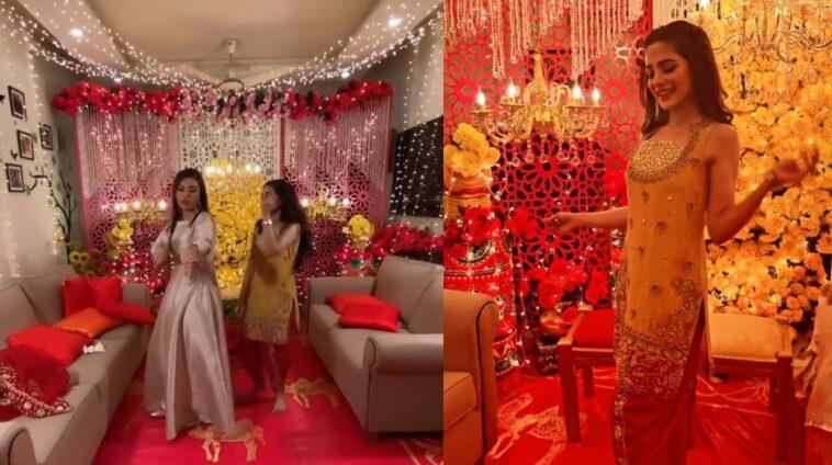 Aima Baig Busts Killer Dance Moves At Sister Wedding