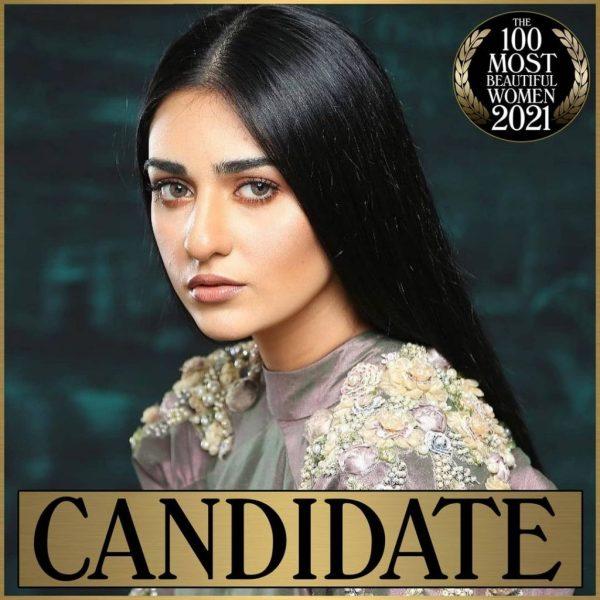 Sarah Khan Nominated As Most Beautiful Woman Of 2021