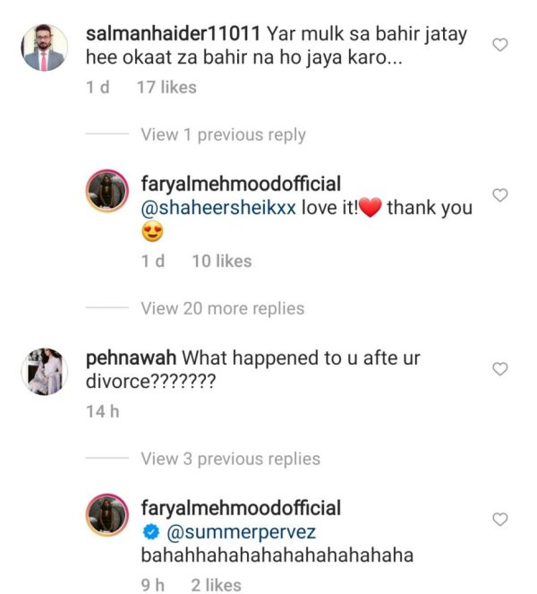 Faryal Mehmood Bold Reply To Haters Gets More Hate
