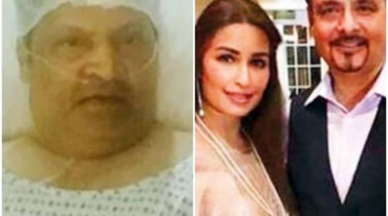 Actress Reema Khan husband to treat Umar Sharif in US