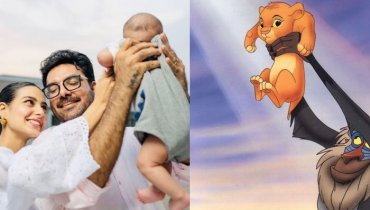 Yasir Hussain and Iqra Aziz create their own version of Lion King