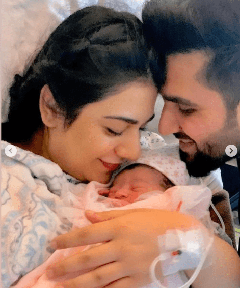 Falak Shabir Shares An Adorable Picture Of His Newborn