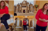 Javeria Saud Visiting Her Friend Castle In USA