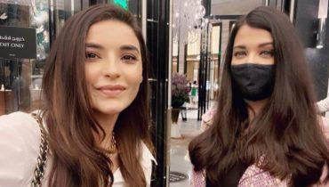 Sadia Khan Spotted With Bollywood Diva Aishwarya Rai Bachan