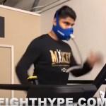ボクシング 世界4階級制覇王者のマイキーガルシア の心肺機能強化トレーニング
