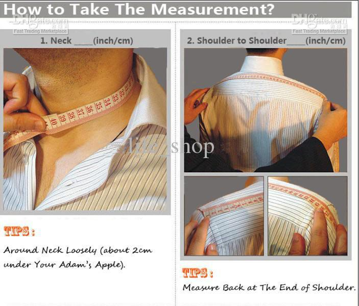 Boy's and Men's Standard Measurements