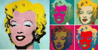 icon of Marilyn Monroe