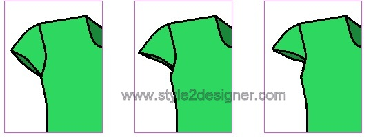 type of cap sleeves