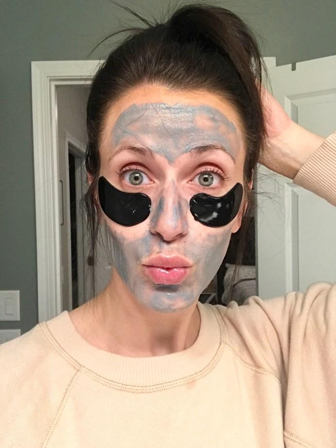 blaq eye gels and mask