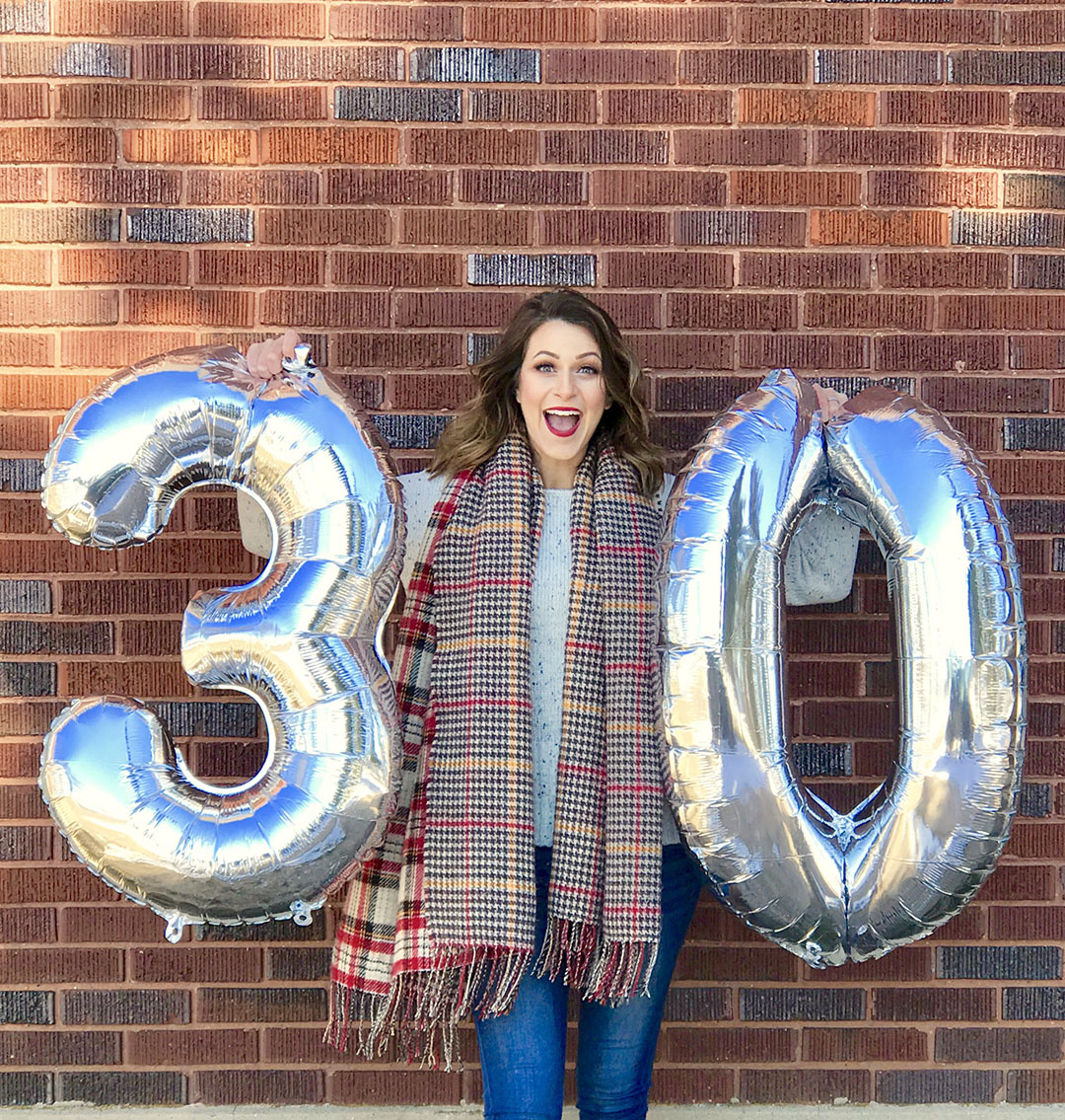 Leaving my 20's behind – Cheers to 30!
