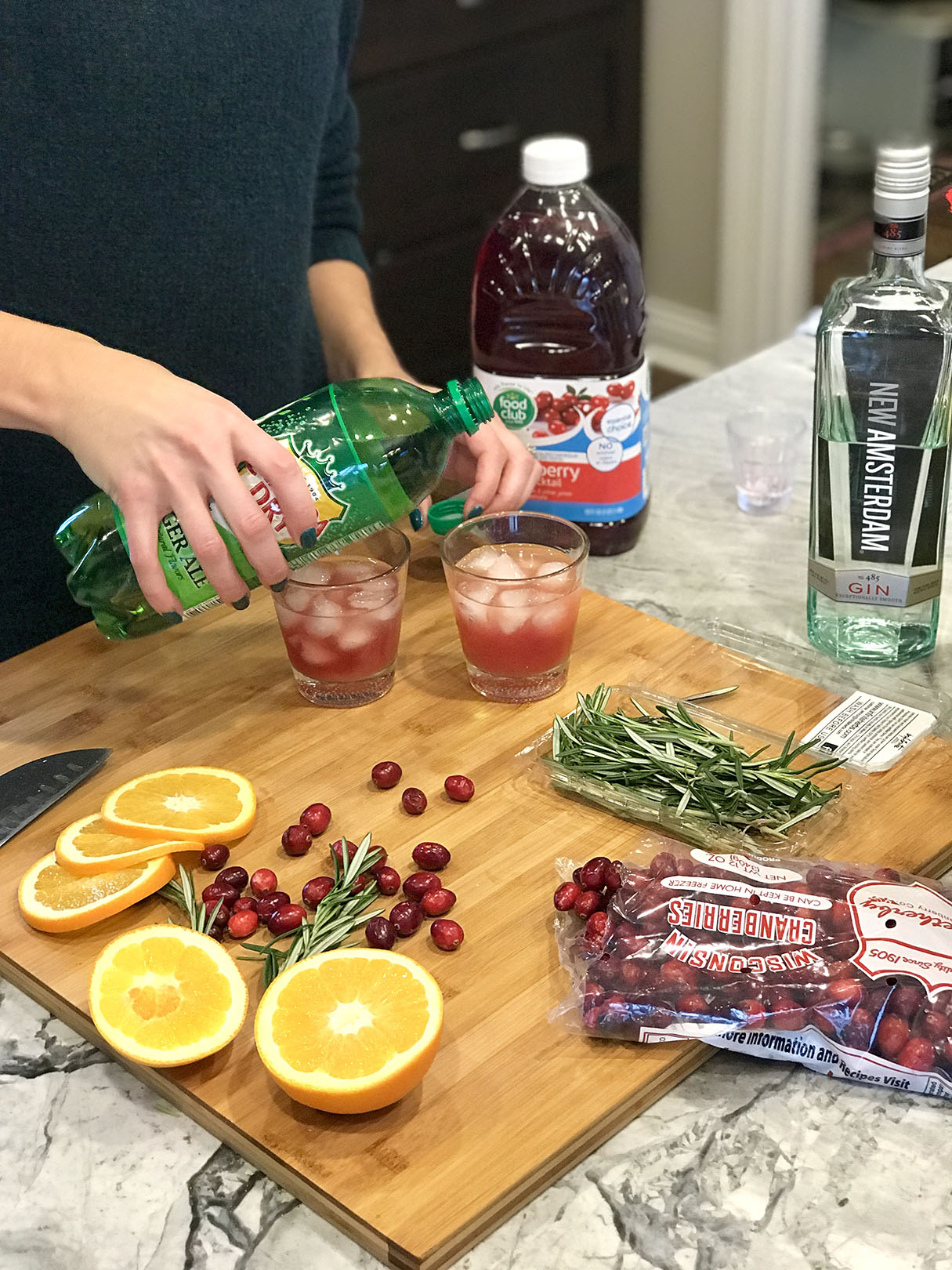 holiday cocktail step 4