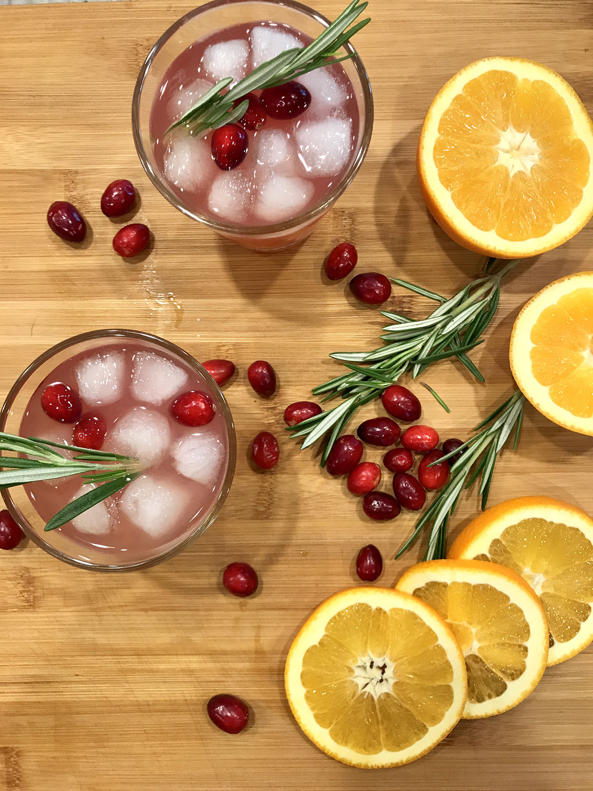 A Festive Holiday Cocktail