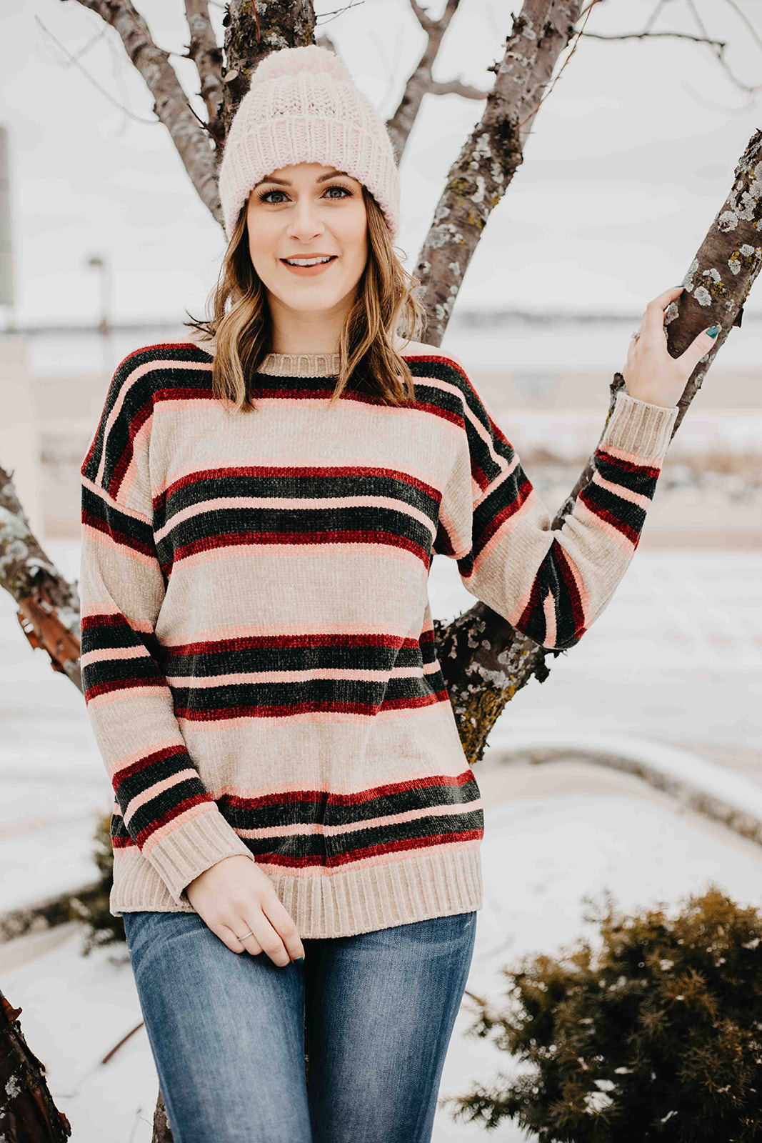 Winter Wearables // Pom Pom Beanies