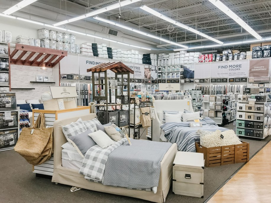 Open bedding area