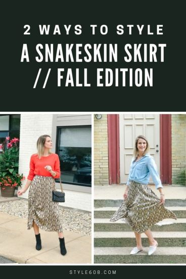 2 ways to style a printed skirt fall edition.jpg