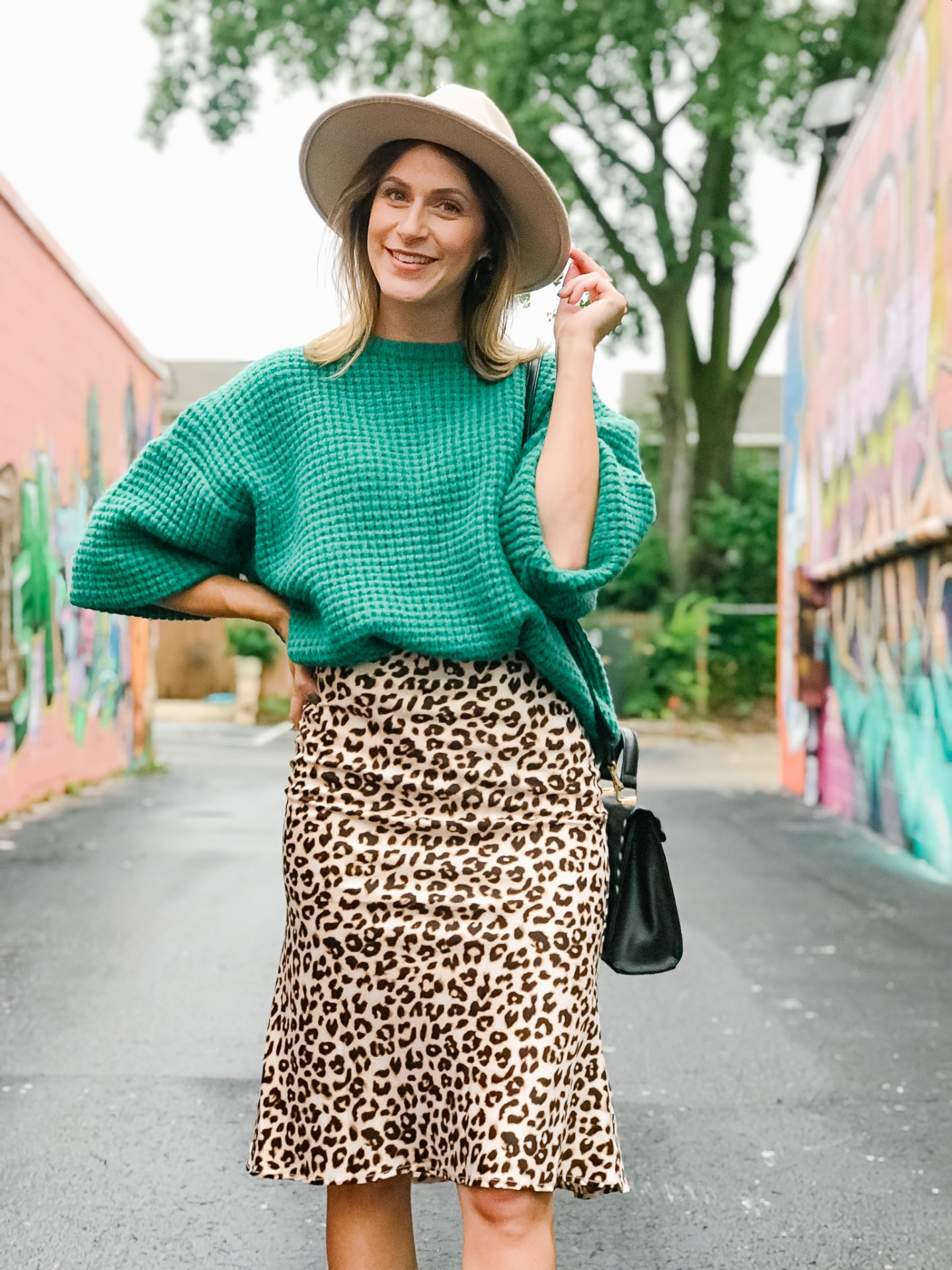 Transition a skirt for Fall