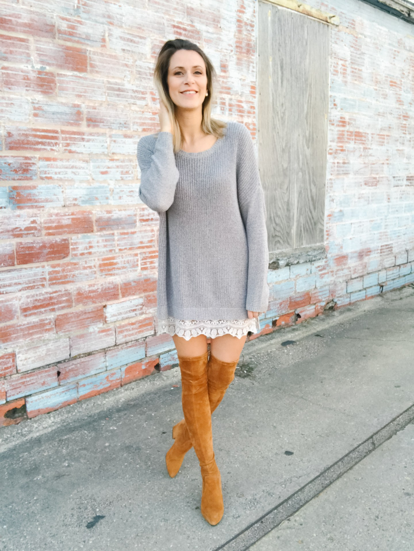 Currently Loving // Sweater Dresses