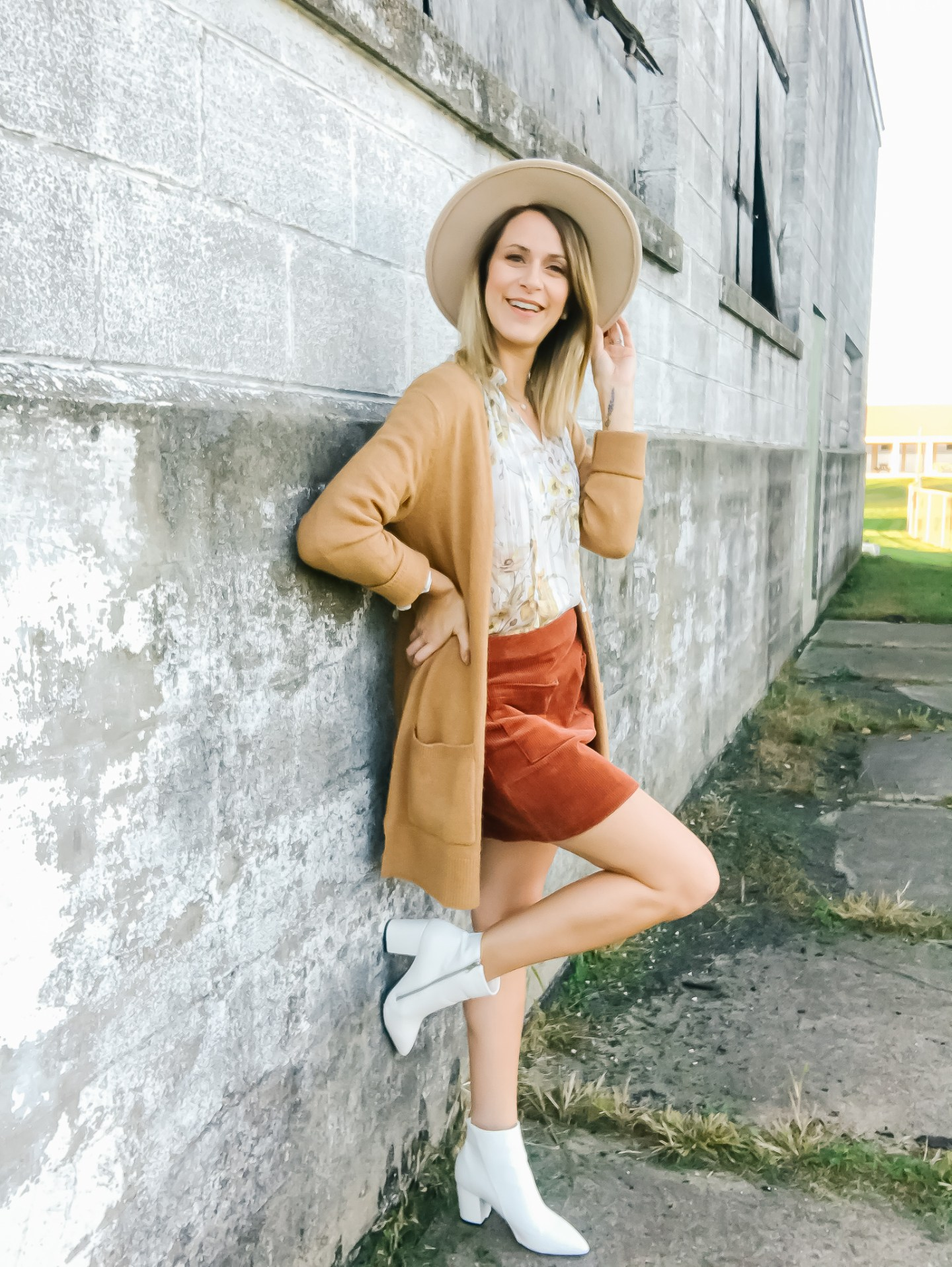 How To Style White Booties