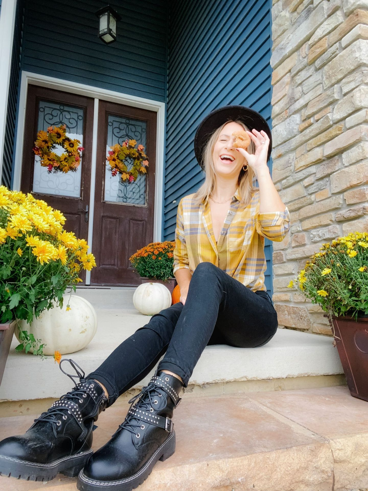 Outfit Ideas For The Pumpkin Patch