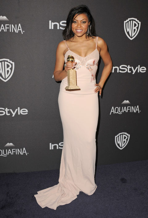 In Stella McCartney at the InStyle And Warner Bros. 73rd Annual Golden Globe Awards Post-Party