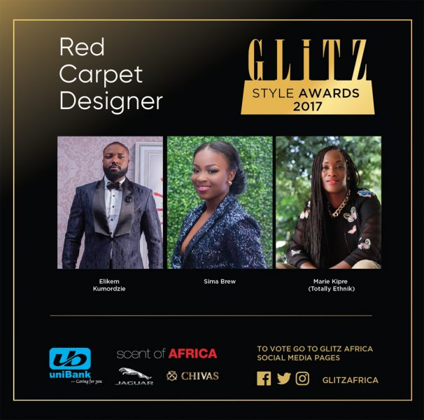 Red Carpet Designer - Nominees