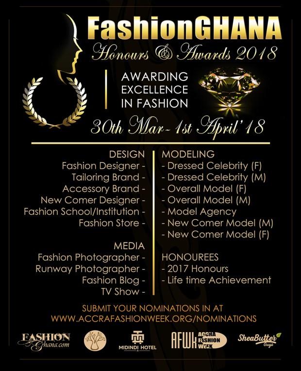 FashionGhana Honours & Awards