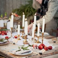 Pinterest Picks - Christmas Tablescape Ideas