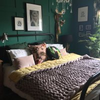 Pinterest Picks - Green Bedroom Inspiration