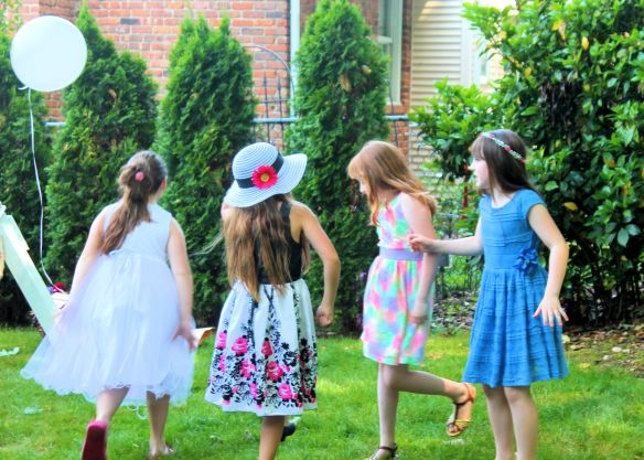 9 year old Tea party celebration 071