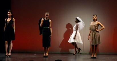 """Fashions of Diana Misetic at Style Week Pittsburgh """"Cut & Sewn"""" at the Kelly Strayhorn Theater in East Liberty"""