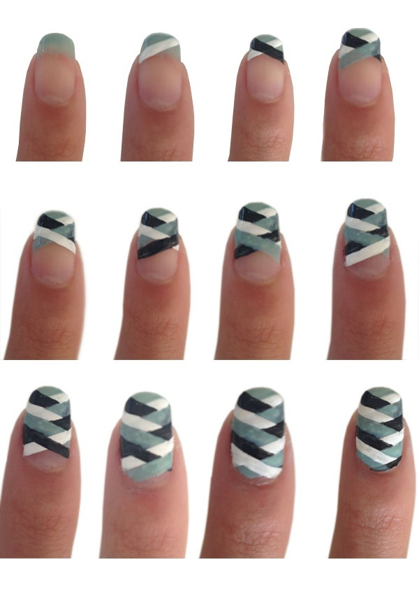 Nail Art Polish Lication Technique Nails