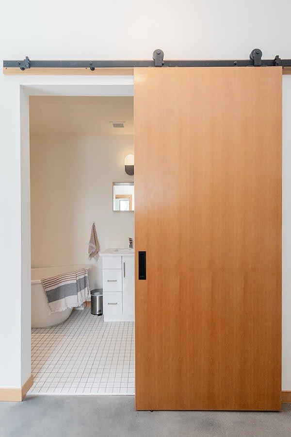 16 creative bathroom door ideas that