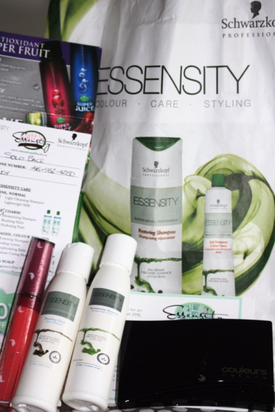 essensity goodie bag