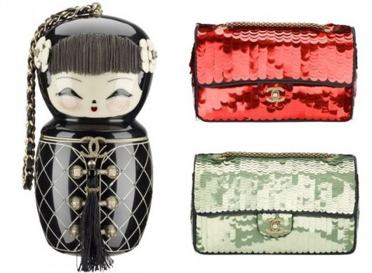 ae591475540c You might remember last year's Chanel Paris-Moscow collection, which  featured such gems as Matryoshka doll and Fabergé-inspired bags.