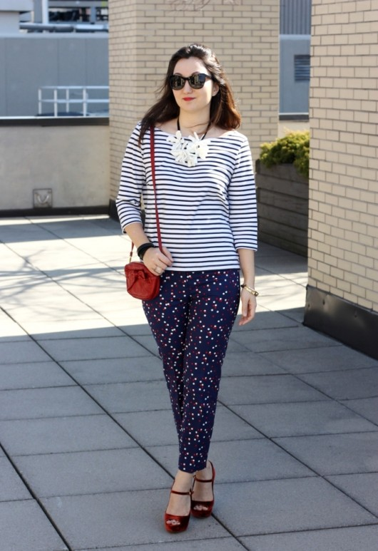h&m-dotted-pants