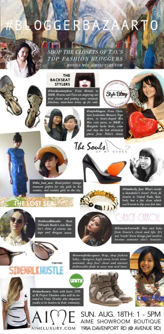 Aime Presents The Blogger Bazaar Toronto