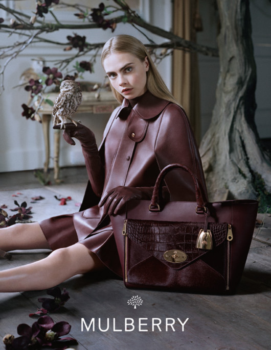Mulberry-AW13-Campaign_06-willow-tote-cara-delevingne