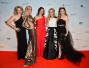 Canadian-Arts-Fashion-Awards-2014-CAFA-Co-Founder-Susan-Hart-Sylvia-Mantella-CAFA-Managing-Director-Vicky-Milner-Suzanne-Rogers-CAFA-Co-Founder-Brittney-Kuczynski