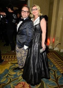 Nicholas Mellamphy and Simona Schneider