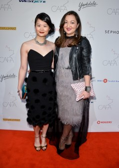 Canadian-Arts-Fashion-Awards-2014-Sharon-Ng-Hayes-and-Nelia-Belkova