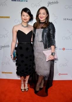 Canadian-Arts-Fashion-Awards-2014-Sharon-Ng-Hayes-and-Nelia-Belkova
