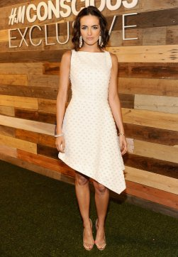 Camilla-Belle-Wearing-HM-Conscious-Collection