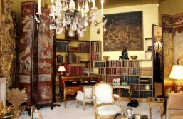 Living room of Coco Chanel's apartment, where Chanel staff still visit to draw inspiration from.