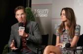 Benedict Cumberbatch and Keira Knightley at Variety Studio